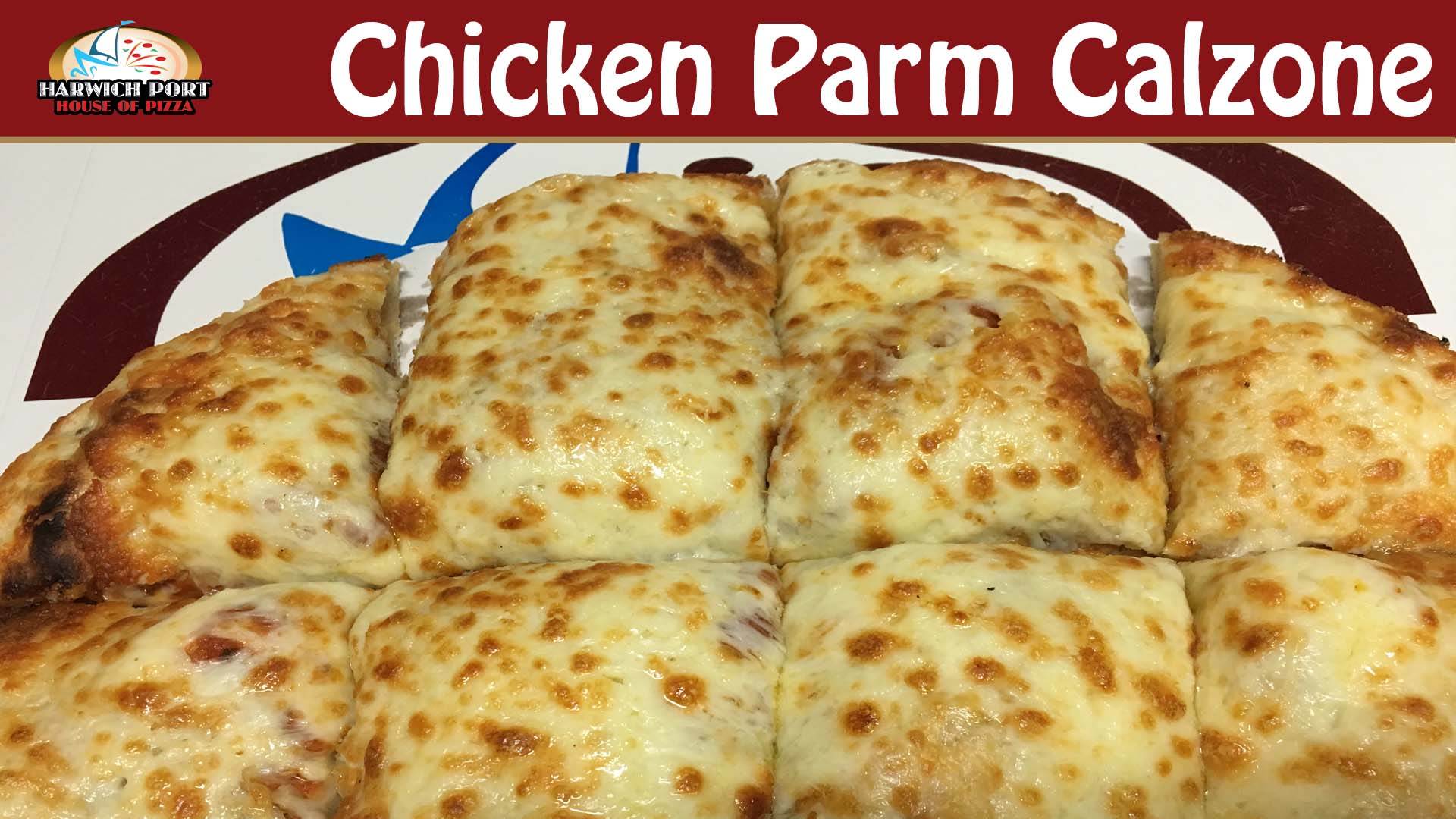 Chicken Parm Calzone