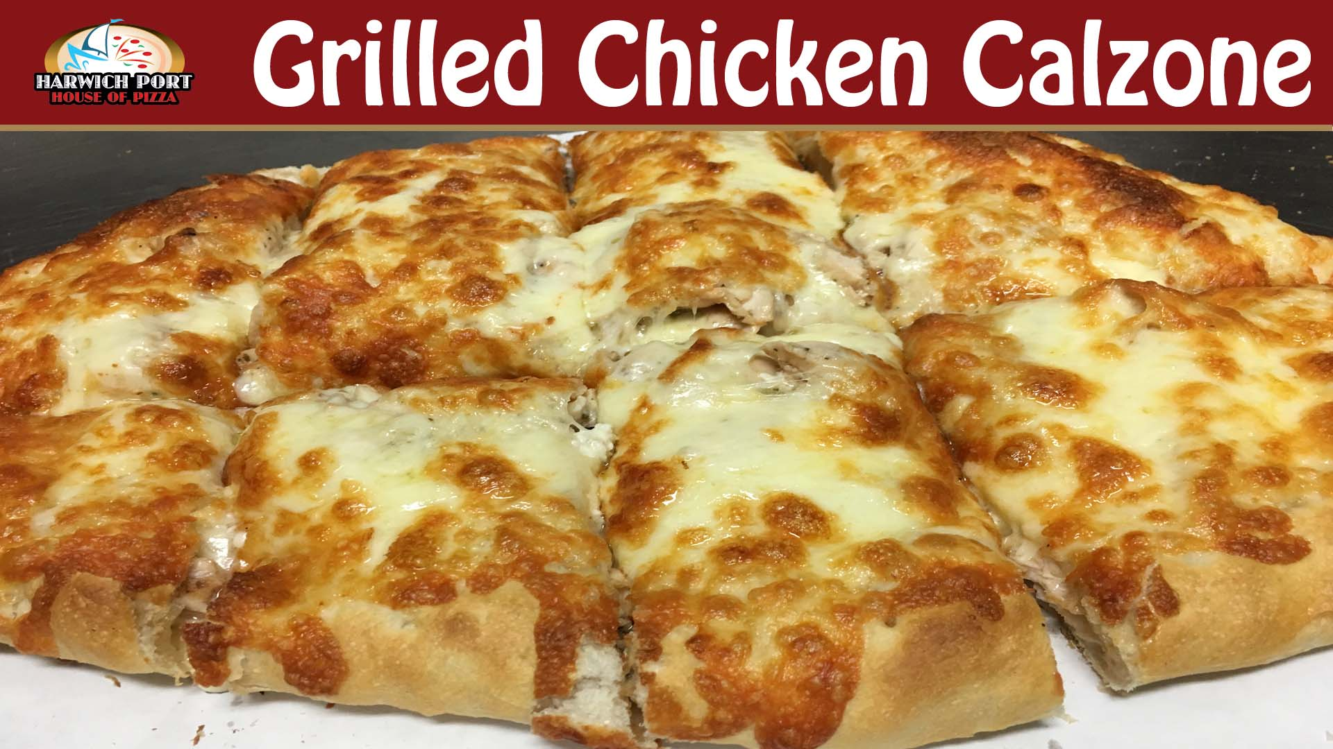 Grilled Chicken Calzone